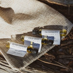 Natural Perfume Oil Samples